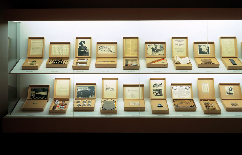 Susan Hiller. From the Freud Museum, 1991-1996.