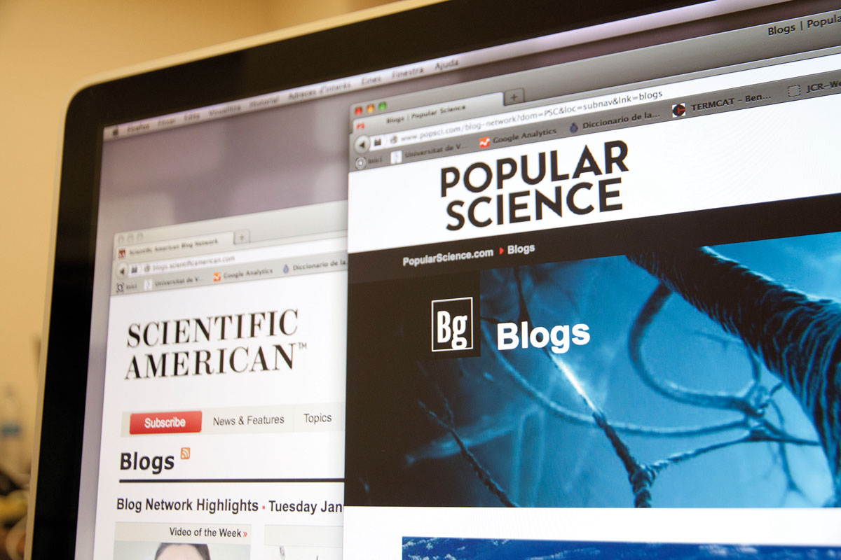 Science, its publics and new media