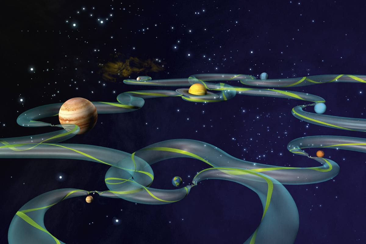 The Solar System highway