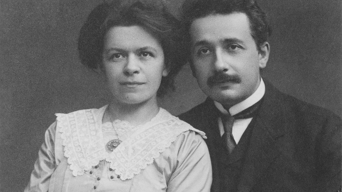 Mileva Maric and Albert Einstein/ Wikimedia