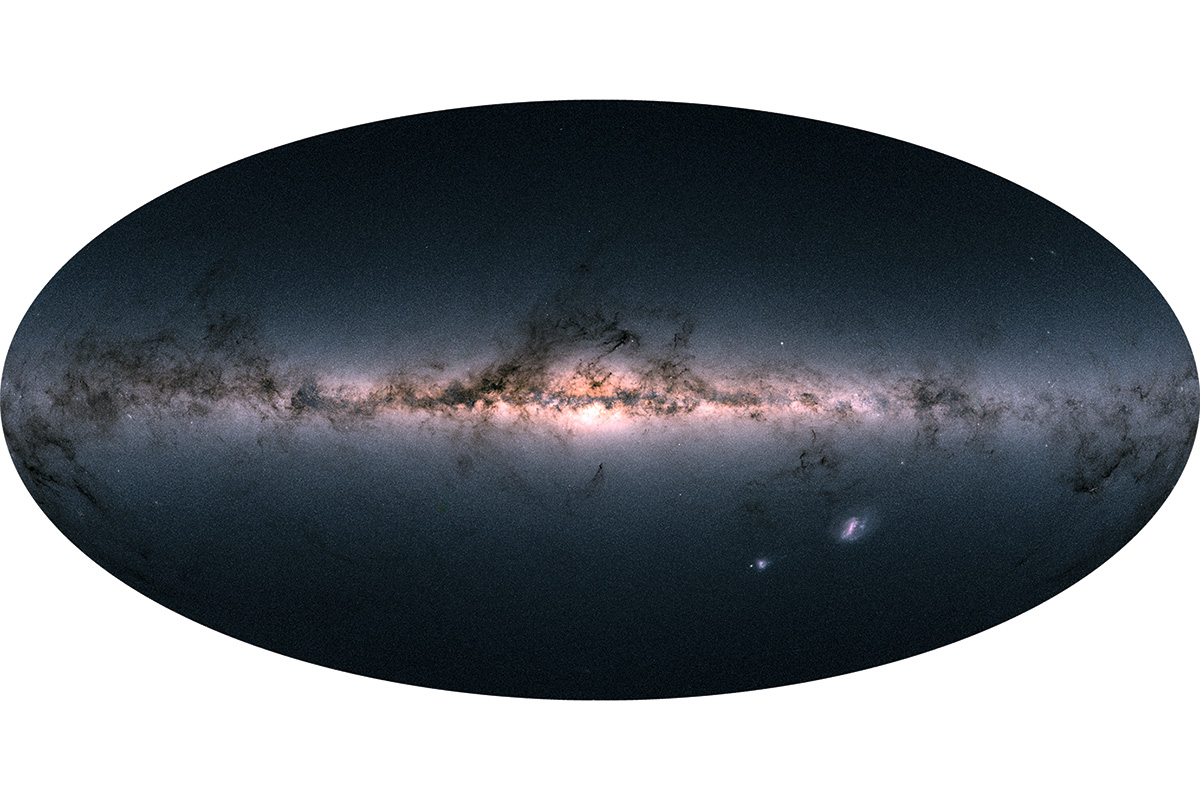 Gaia: the ultimate picture of the Milky Way