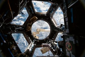 International Space Station dome