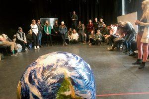 university students climate change communication
