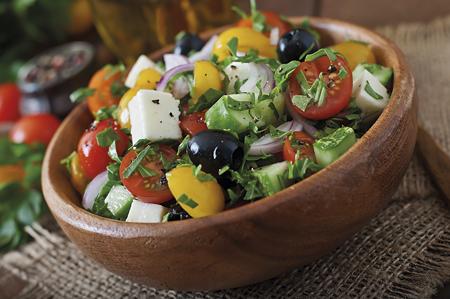 salad mediterranean diet