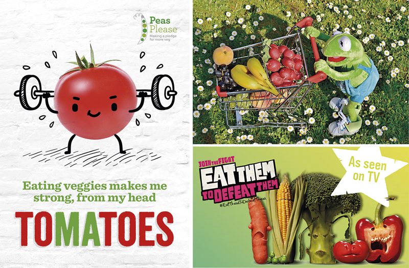 posters campaigns nutrition