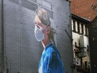 wall painting pandemic photo